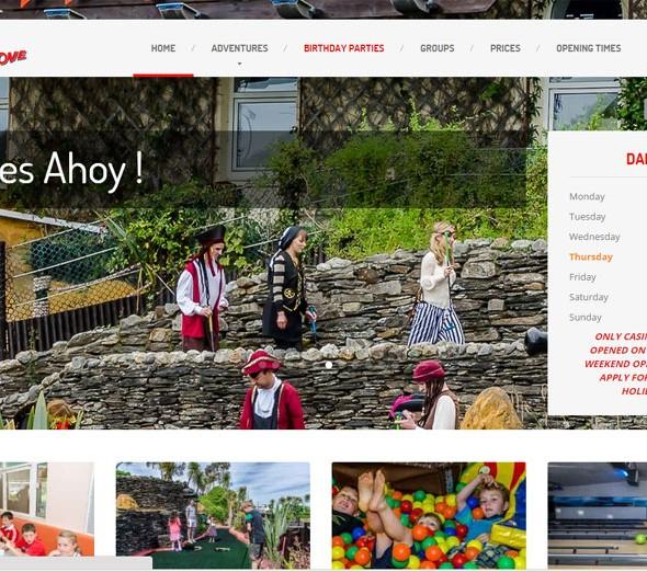 pirates cove website